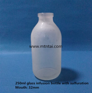 250ml Amber Color Glass Infusion Bottle with 32mm Mouth pictures & photos