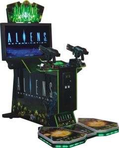 China Factory Aliens Arcade Shooting Video Game Machine for Sale (MT-2019) pictures & photos