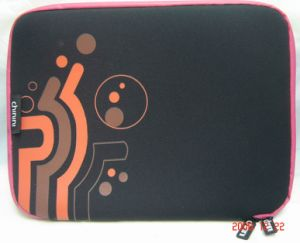 Neoprene Laptop Bag/Laptop Case - Black