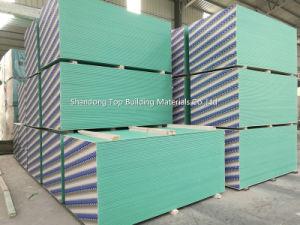 Waterproof Gypsum Board /Moisture Proof Gypsum Board/1200*2400/1220*2440*7/8/9/12mm pictures & photos