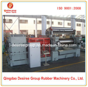 Two Roll Rubber Plastic Fining Mixer Machine