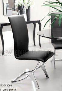 Modern PU Leather Design Stainless Bronze Metal Wedding Chair (NK-DCA066)