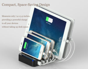 5 Port Multifuncation USB Quick Charger Koisk Station for Laptop pictures & photos