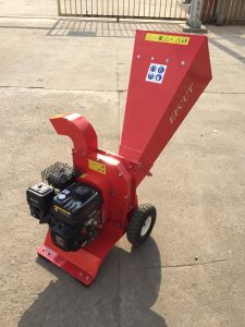 Chipper Model DCP 70-6.5h Disc Blade Fresh and Dry Tree Branches Recoil Starter Wood Chipping Machine pictures & photos