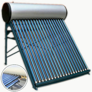 Heat Pipe Pressurized Solar Water Heat, 80L-330L pictures & photos