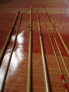 High Quality Fly Fishing Handmade Bamboo Fly Rod pictures & photos