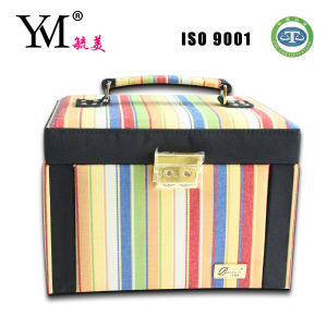 Newest Canvas Cosmetic Case for Girls /Cosmetic Make up Case pictures & photos