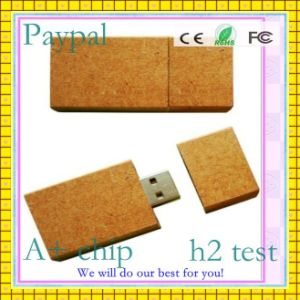 Real Capacity 32GB Wooden USB Flash Drive (GC-W016) pictures & photos