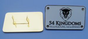 Metal Brand Handbag Logo Label (ASNY-JL-ML-0090304) pictures & photos