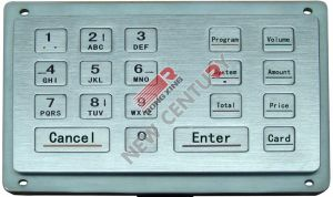 Ss Keypad (Fuel Dispenser Part)