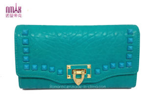2014 Fashion PU Leather Lady Wallets Card Purse Moneybag (NMDK-W004) pictures & photos