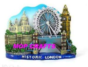Polyresin Factory of Souvenir Fridge Magnet pictures & photos