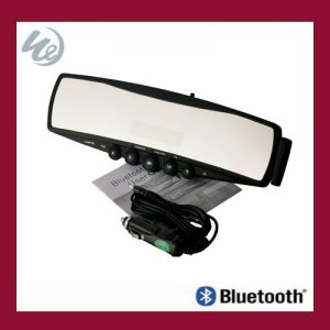 Bluetooth Car Kit Mirror With Caller Name