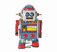 Mini Robot Tiny Tin Toy Robot
