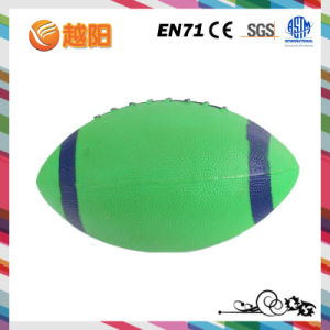 PVC Inflatable 4inch Printing American Football for Toys