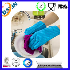 Wholesale Kitchen Waterproof Silicone Mitt pictures & photos