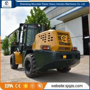 4*4 All Rough Terrain Forklift with Price List pictures & photos