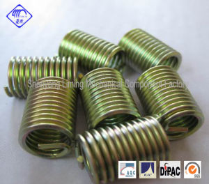 M3-36 Wire Thread Insert Fasteners with Metal Coating