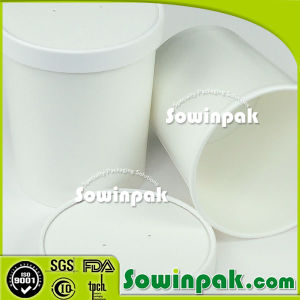 Paper Hot Food Container with Lid
