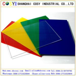 Different Color Plastic Acrylic Board for Construction and Advertising pictures & photos