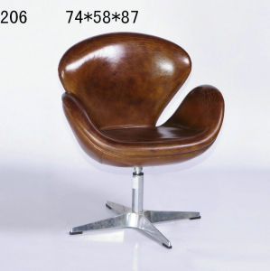 Contemporary Upholstered Single Armrest Sofa Chair (206) pictures & photos