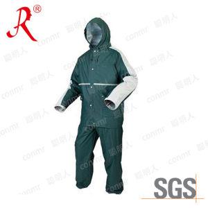 Best Selling PVC Rain Jacket, Rain Coat, Rain Suit (QF-731) pictures & photos