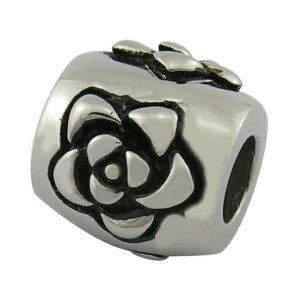 Engrave Letter Stainless Steel Jewelry Metal Beads pictures & photos