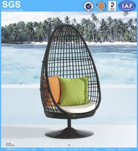 Patio Furniture Round Wicker Rattan Egg Chair pictures & photos