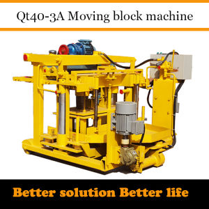 Tunisia Concrete Block Machine Qt40-3A Dongyue Machinery Group pictures & photos