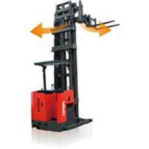 1ton Electric Pallet Stacker with Lifting Height 7500mm pictures & photos