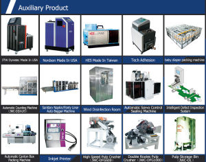 SGS Baby Diaper Machine Stocklots Baby Diaper Raw Material pictures & photos