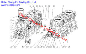Engine Part Yc6j190-20 for Chang an Bus Sc6910 pictures & photos