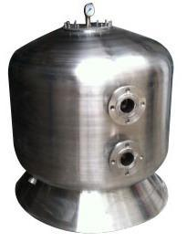 Stainless Steel Sidemount Sand Filter with Flange pictures & photos