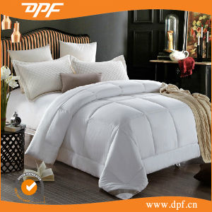 100% Polyester Shell Quilt for Hotel Usage (DPF201536) pictures & photos
