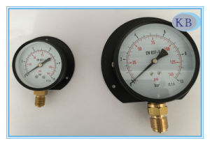 "2.5"" Dry Manometer Back with Front Flange pictures & photos"