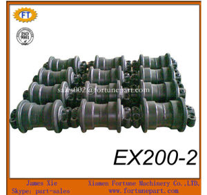 XCMG Xe215c Excacator Undercarriage Spare Parts Track Lower Roller pictures & photos