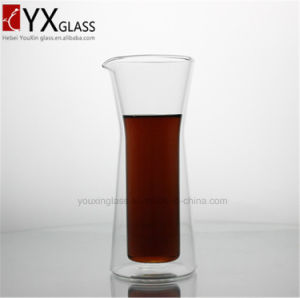 Double Wall Glass Cold Brew Coffee Maker/Cold Tea Juice Milk Water Glass Pitcher Jar pictures & photos