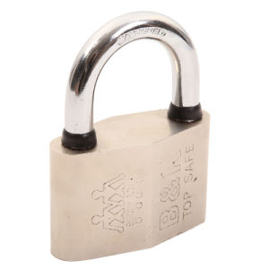 Diamond Type Waterproof Rings Steel Padlock (SS-015A) pictures & photos