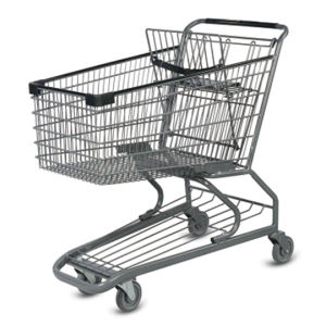 Professional Design Powder Coating Shopping Trolleys by Factory pictures & photos