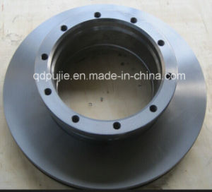 Vented OE 9424212112 Truck Brake Disc for Mercedes Benz pictures & photos