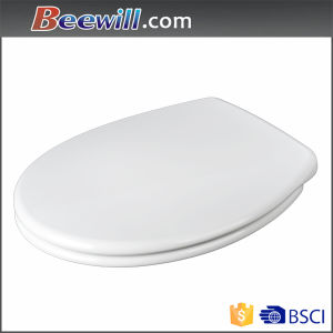 Slow Close Round Toilet Seat with Quick Release Hinge pictures & photos