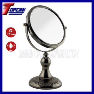 Black Nickel Decorative Table Cosmetic Miror