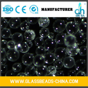 Transparent Grinding Abrasive Smooth Glass Beads for Sandblasting pictures & photos