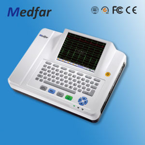 Medfar Mf-Xcm1200A 12-Channel ECG Electrocardiograph pictures & photos