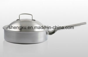 18/10 Stainless Steel Cookware Chinese Wok Cooking Frying Pan (SX-FO26-11) pictures & photos