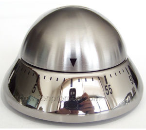 Custom Stainless Steel Egg, Apple Shape Michanical Kitchen Timer pictures & photos