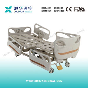 Hospital Furniture, Luxurious Five Functions Electric Medical Bed (XHD-2B) pictures & photos