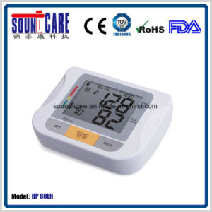 53 X 72mm LCD Upper Arm Blood Pressure Monitor (BP80LH) pictures & photos