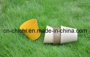 Flower/Plant Pot/Bamboo Fiber/Plant Fiber/Vase/Garden/Promotional Gifts/Home Decoration/Garden Decorations/Natural Bamboo Fiber Biodegradable Pots (ZC-F20235)