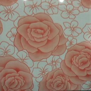 Beautiful Flower Pattern Designed PPGI Coated Steel Coil pictures & photos